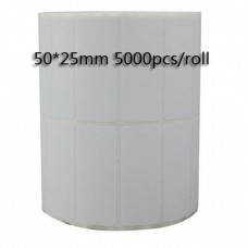 BARCODE STICKER LABLE 50 X 25 TT -2UP (5...
