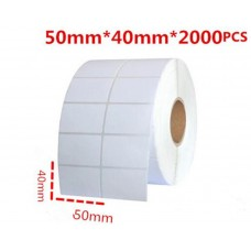 BARCODE STICKER 50 X 40 (2000 ROLL) [OEM]