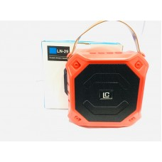 BLUETOOTH SPEAKER BARREL LARGE ORANGE HA...