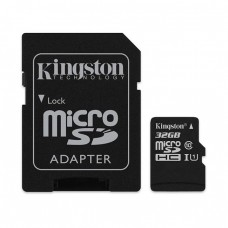 KINGSTON 32GB MICRO SD CARD CLASS 10 [KINGSTON]
