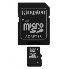 KINGSTON 8GB MICRO SD CARD CLASS 4 [KINGSTON]